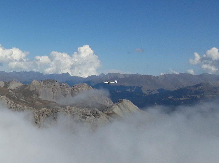 Planer au dessus de la Savoie