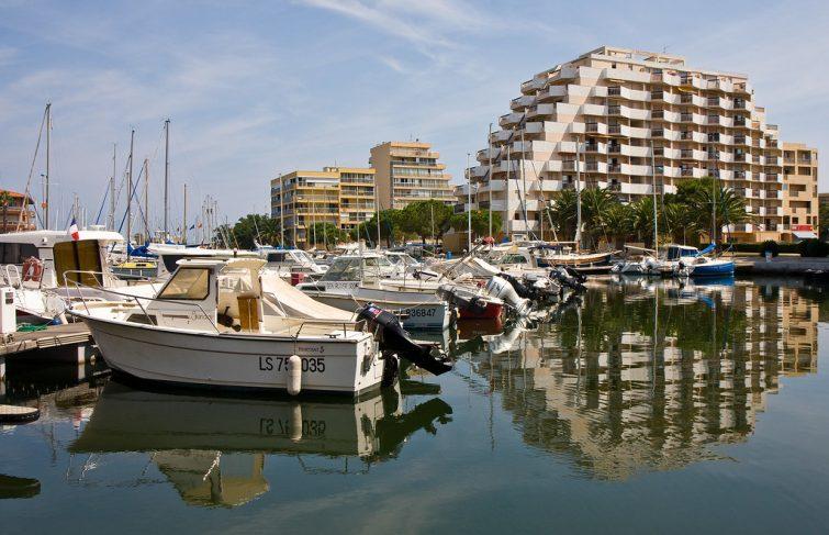 Marina, port de Canet-en-Roussillon