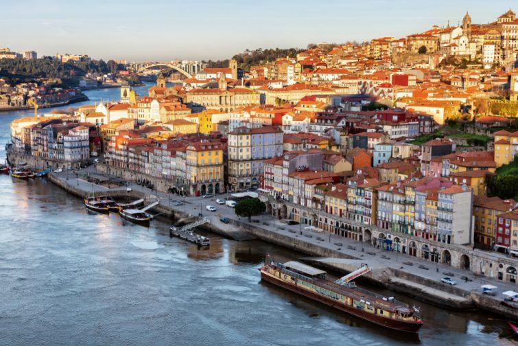 Au bord du Douro, Porto