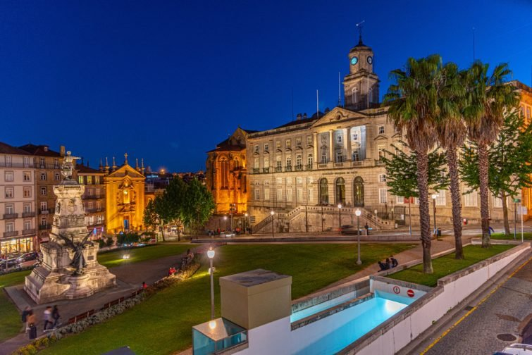 Le Palácio da Bolsa, inclus dans le city pass Porto