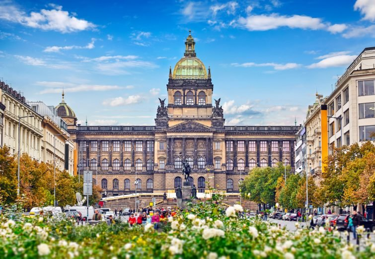 Le musée national de Prague