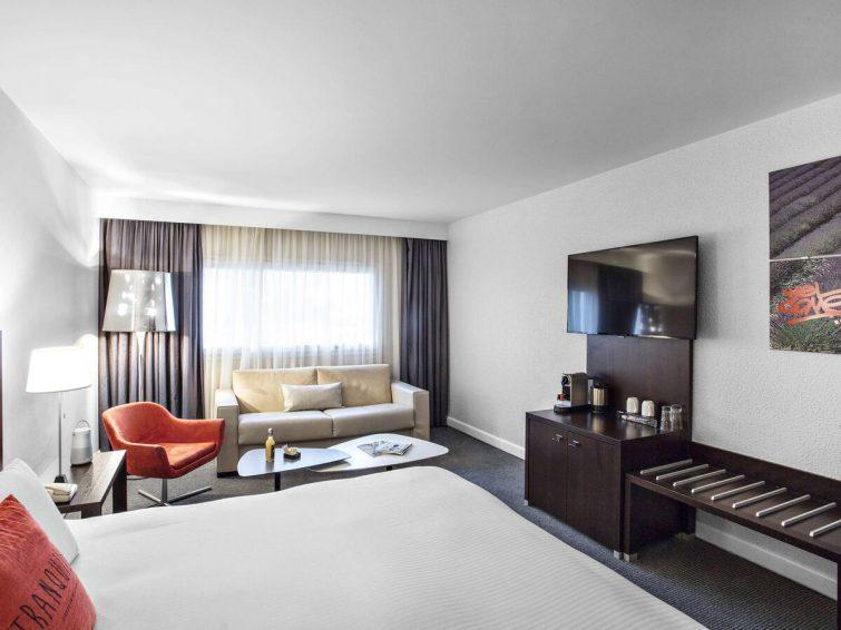 Chambre, hôtel Pullman, Aéroport de Marseille