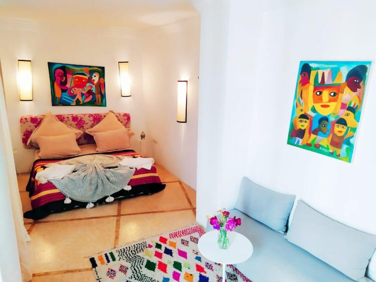 Chambre à Marrakech