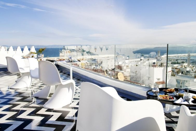 Terrasse, Riad Dar Saba, Tanger
