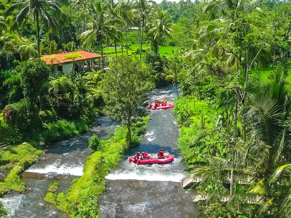 rivière ayung