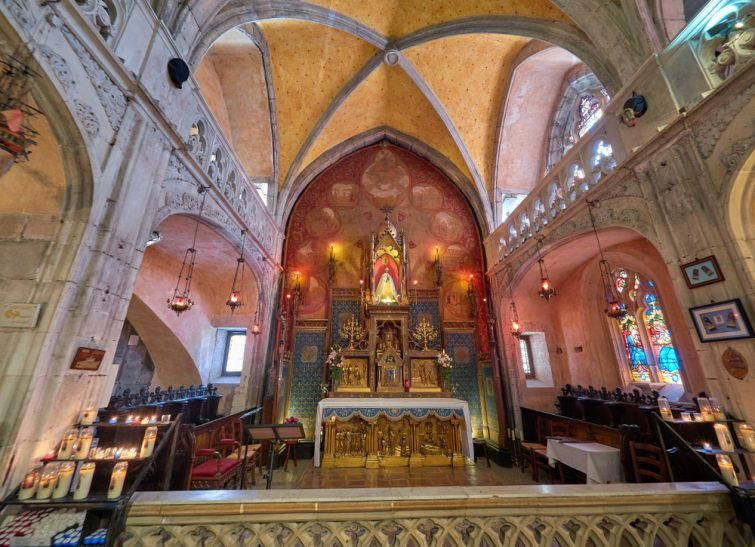 rocamadour église