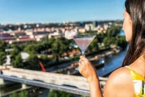 Les meilleurs rooftops où boire un verre à Prague