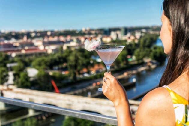 Les 10 meilleurs rooftops où boire un verre à Prague