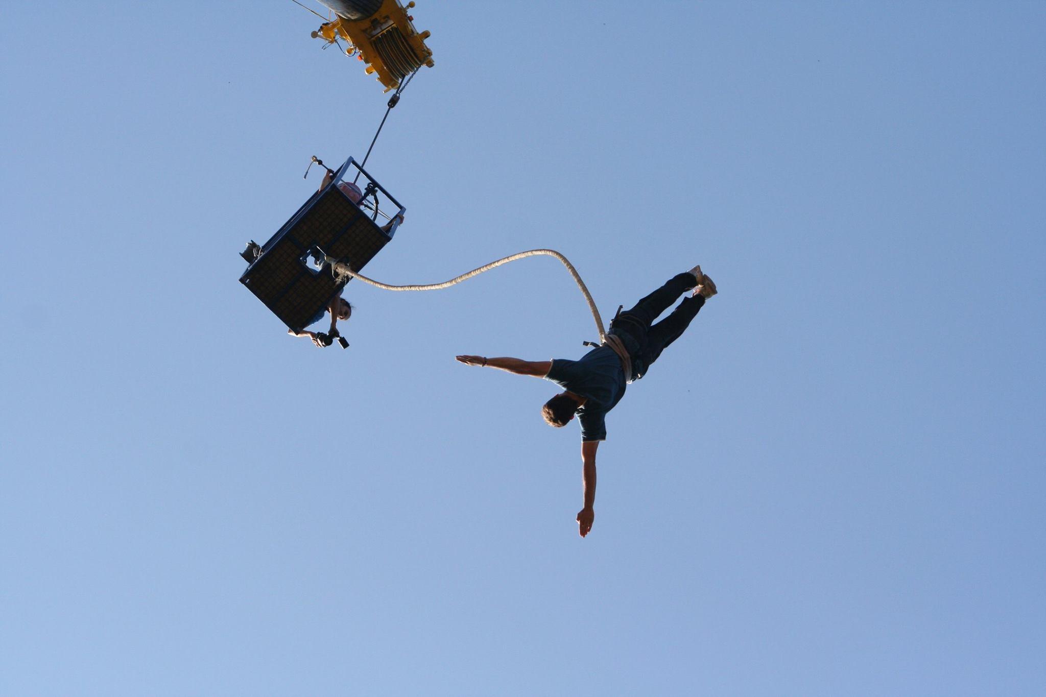 Faire du saut à l'élastique dans les Vosges