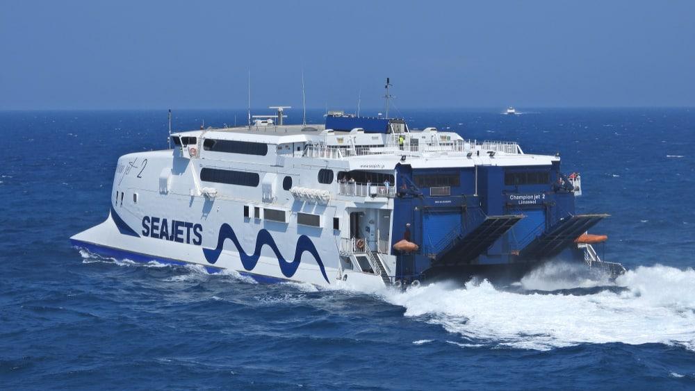 seajets Amorgos depuis Santorin en ferry