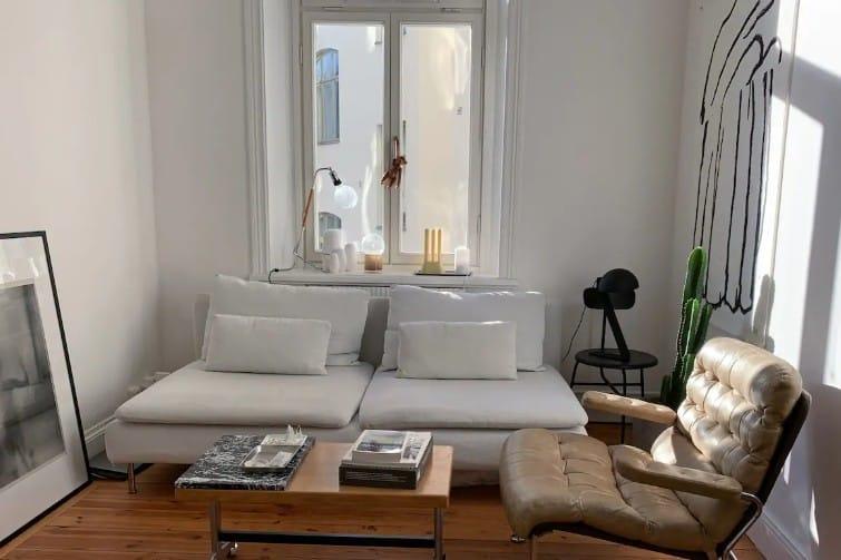 Bel appartement richement décoré