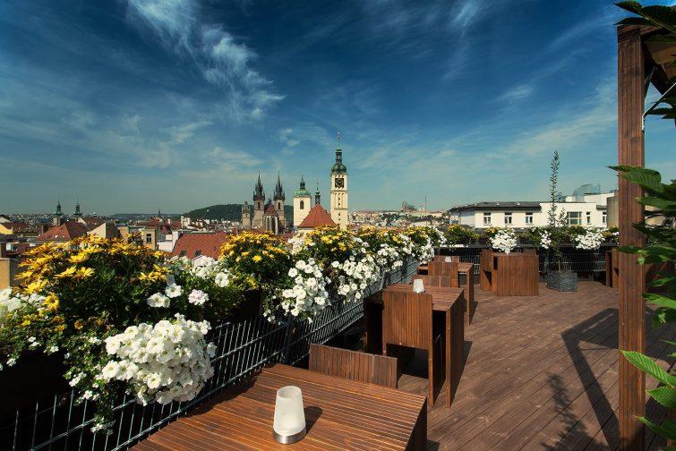 Rooftop où boire un verre à Prague : T-Anker