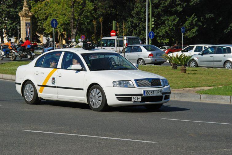 Taxi sévillan