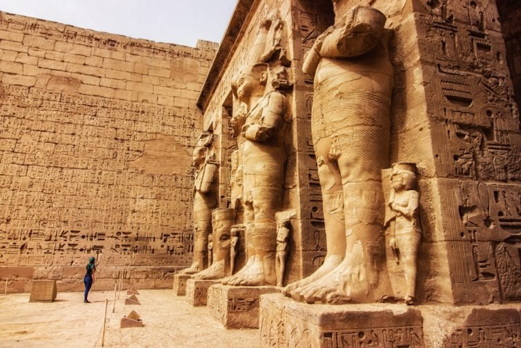 temple de Medinet Habu