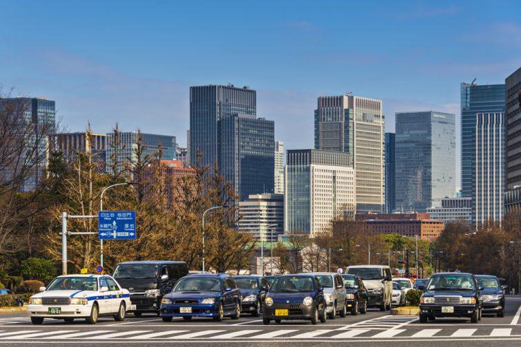 Conduire à Tokyo