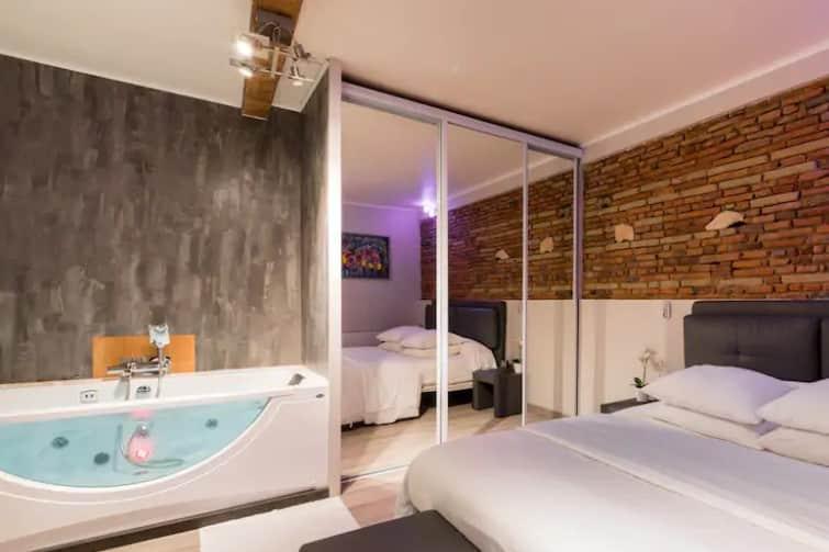 Appartement design avec balnéothérapie près de la Garonne