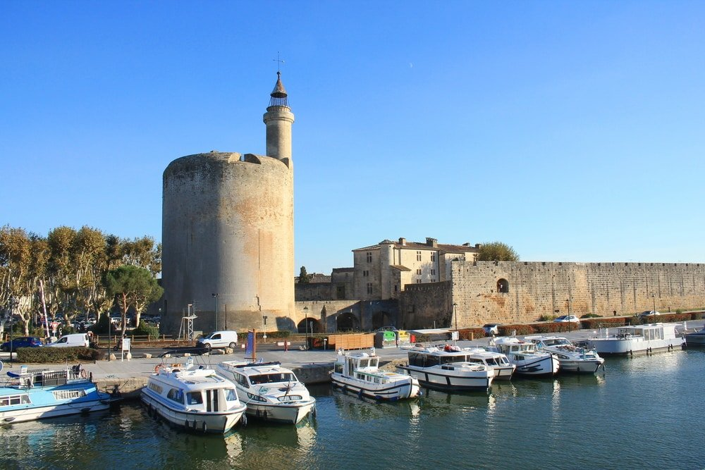 La Tour de Constance, endroit phare à faire à Aigues-Mortes