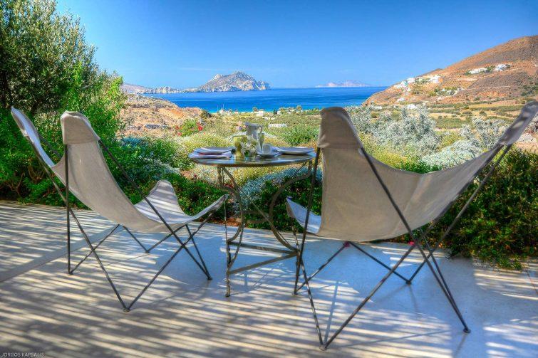 Villa face à la mer, Aegiali, Amorgos