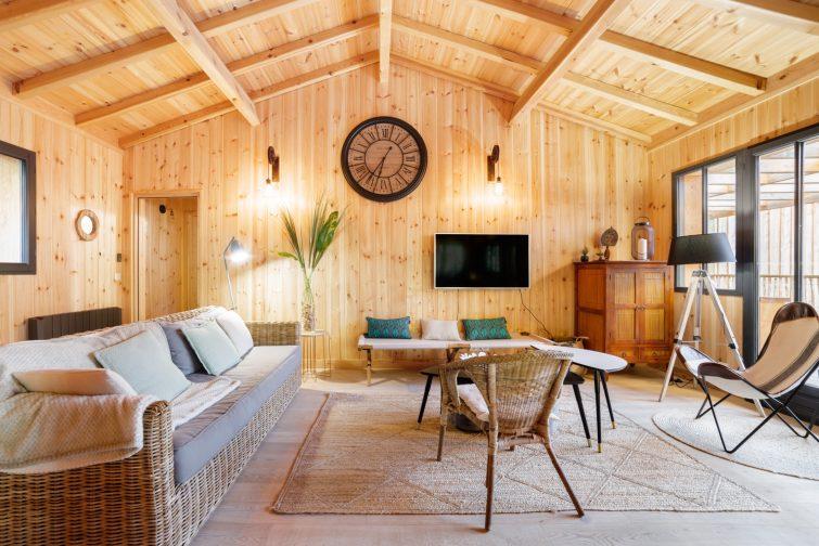 Airbnb à Arcachon : villa sous les pins