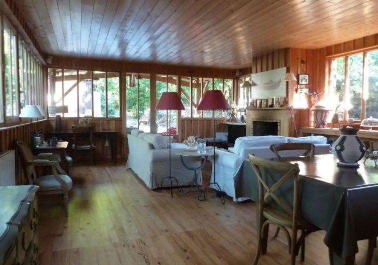 Grande villa en bois, Cap Ferret