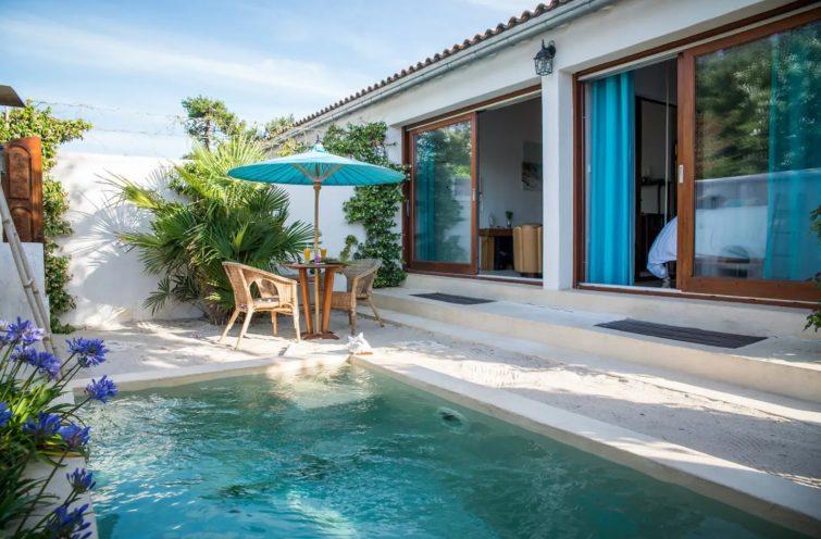 Villa avec piscine sur l'Île de Ré