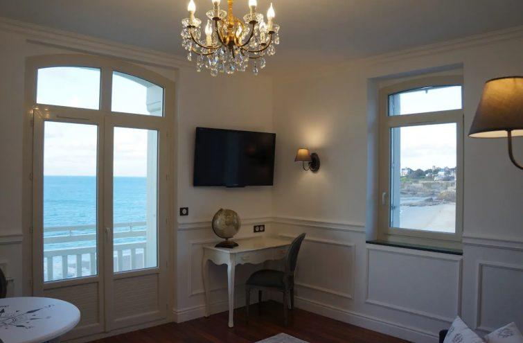 Villa Ker Eole avec vue sur la mer, Dinard