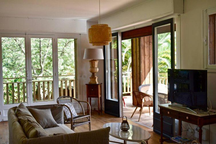 Grande maison de vacances, pointe sud, Cap Ferret