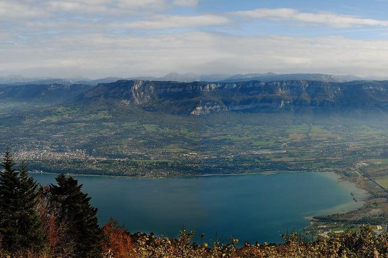Spot de Viviers du Lac, sur le Lac du Bourget