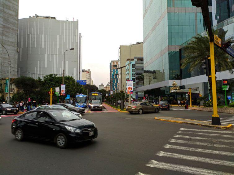 Conduire au Pérou