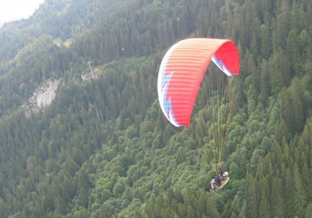 9 endroits où faire du parapente dans les Vosges