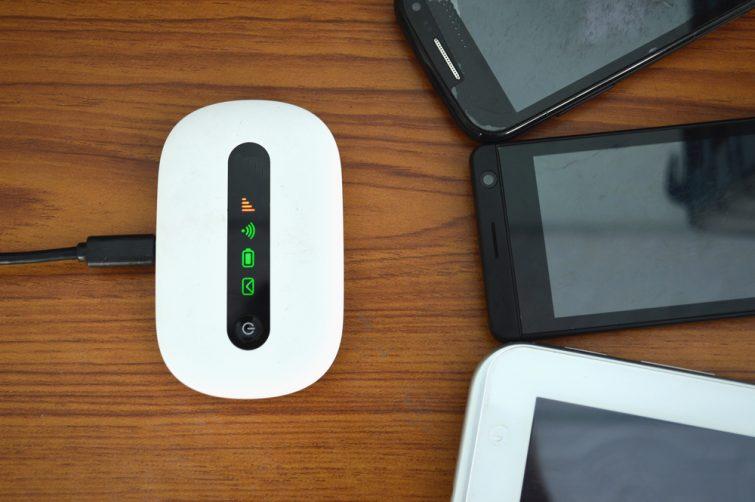 Boîtier de Wi-Fi portatif