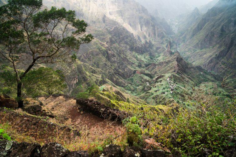 Randonnée au Cap-Vert dans la vallée de xoxo
