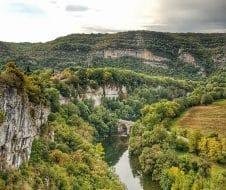 Visiter les Gorges de l'Aveyron : Les Gorges d'Aveyron en automne
