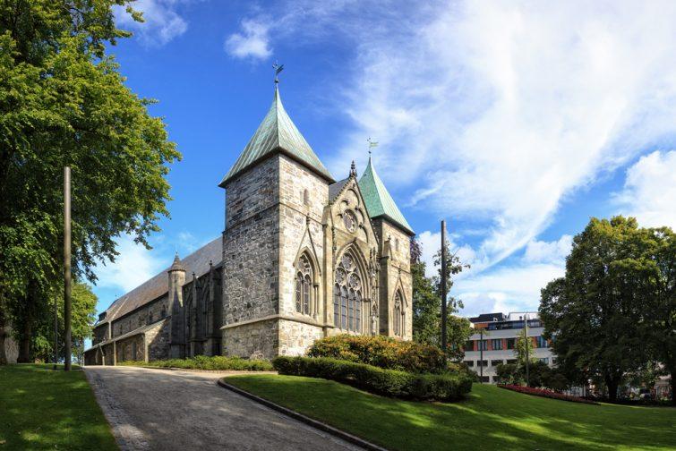 Célèbre Stavanger Domkirke l'une des plus anciennes églises de Norvège.