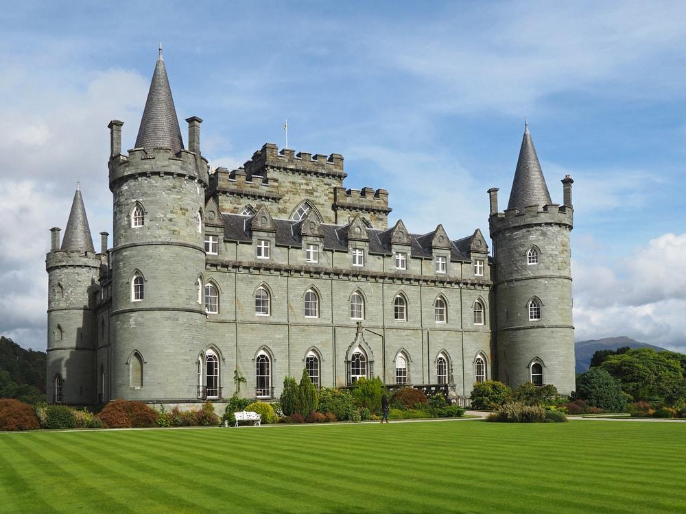 Château romantique écossais