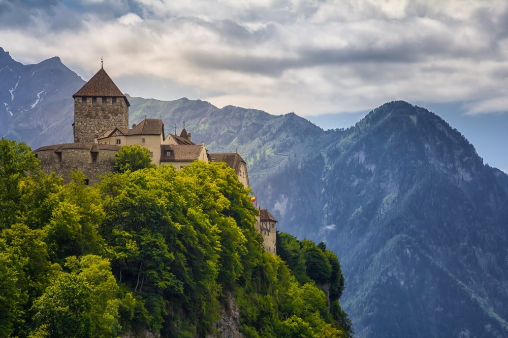 Château royal de Vaduz, Liechtenstein