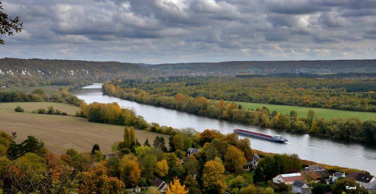 La Seine depuis La Roche-Guyon