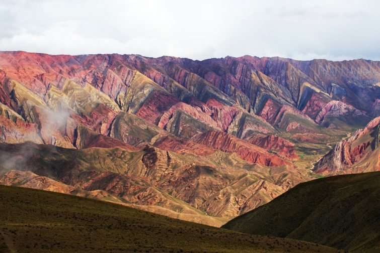 Hornocal, Montagne de quatorze couleurs, Quebrada de Humahuaca, Nord de l'Argentine