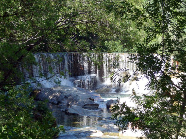 La cascade de Saint-Laurent-le-Minier