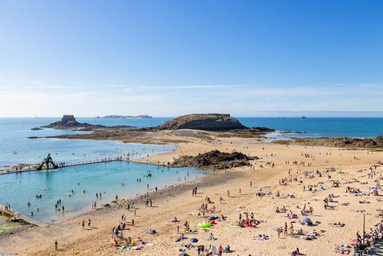 La plage de Bon Secours