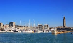 La ville du Havre en Normandie