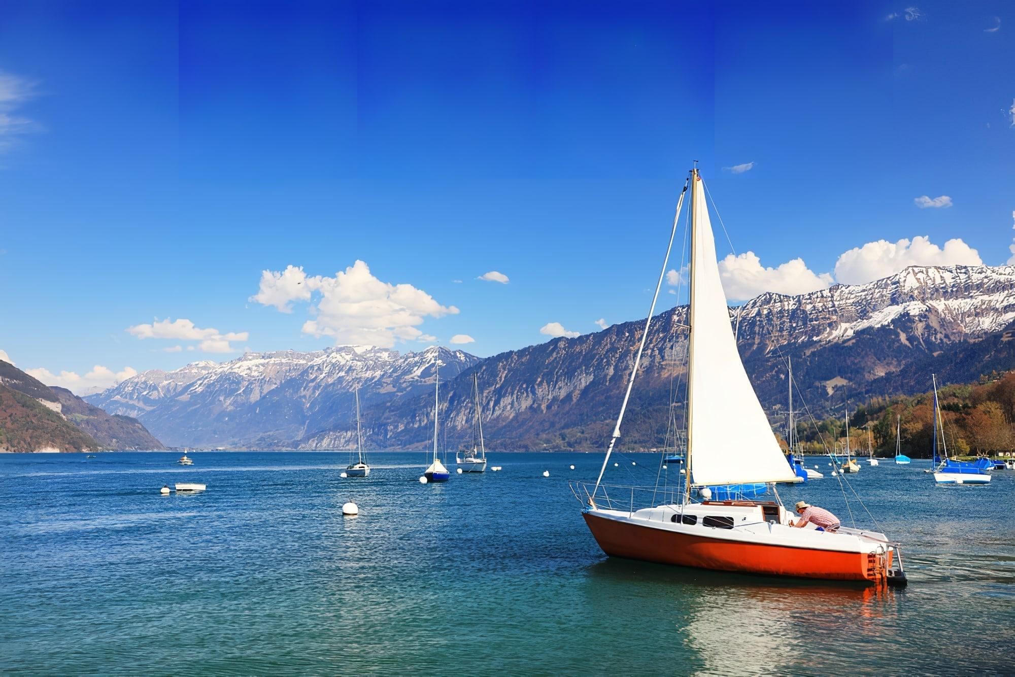 Lac Leman, Suisse, Europe