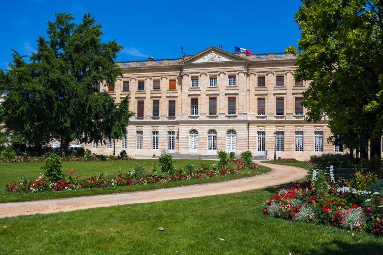 Le Musée des Beaux-Arts de Bordeaux.