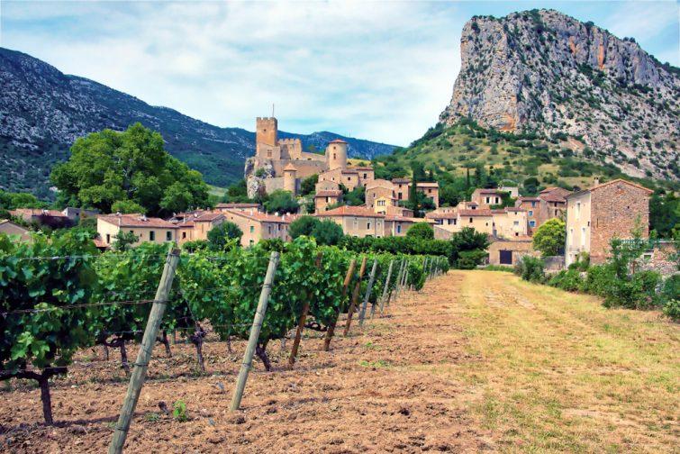 Le village de Saint Jean de Bueges, dans le département d'Hérault du Languedoc, France