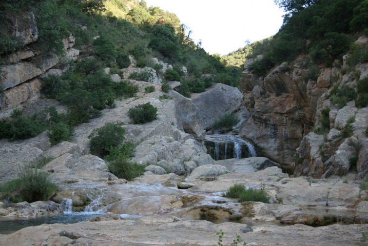 Les cascades de Duilhac