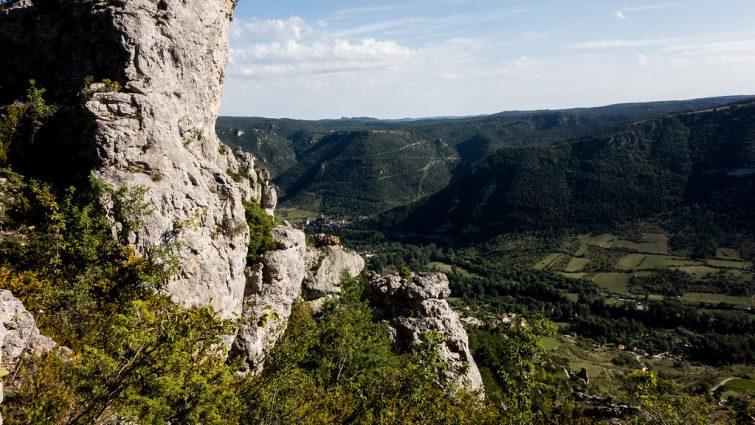 Randonnée au départ de Liaucous dans les Gorges du Tarn