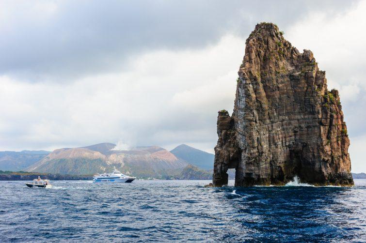 Lipari and Vulcano islands,