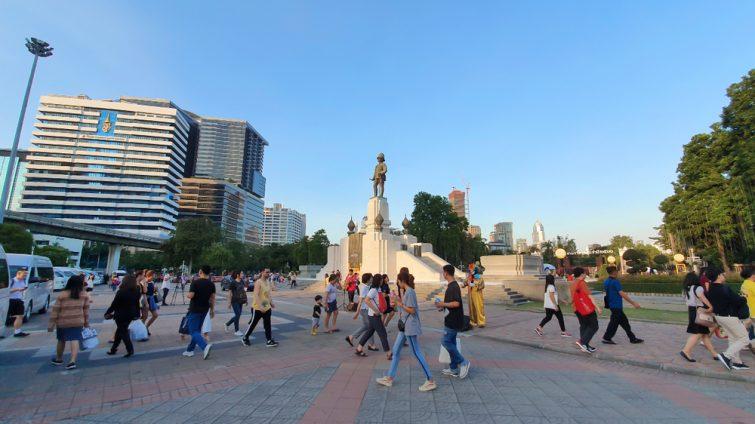 Lumphini park ,Bangkok ,Thailand.