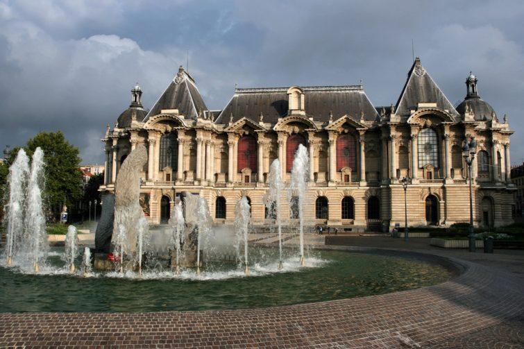 Musée des Beaux-Arts de Lille, France. Le vieux palais.