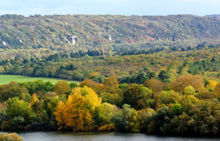 La Seine dans le Parc naturel régional du Vexin